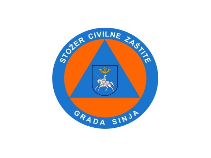 Stože civilne zaštite sinj - logo
